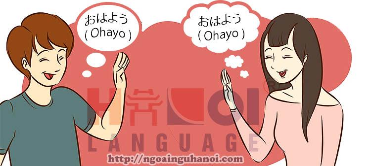 chao-buoi-sang-tieng-nhat-ohayo