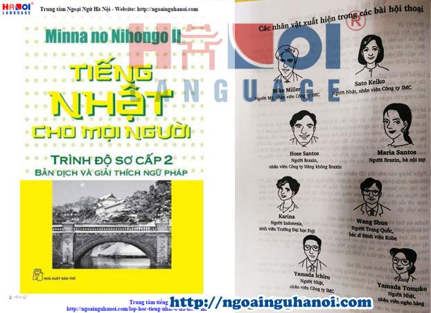 Giáo trình học Minna.No.Nihongo.I tiếng Việt