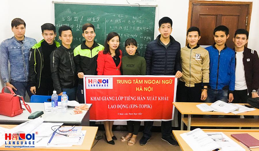 khai-giang-lop-tieng-han-xuat-khau-lao-dong