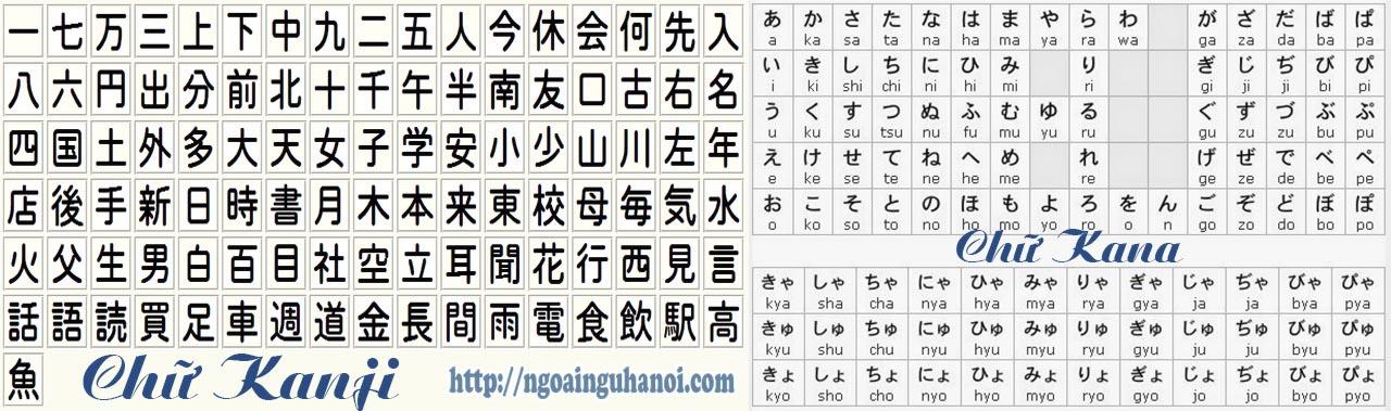 chu-kanji-kana-trong-tieng-nhat
